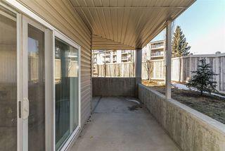 Photo 28: 107 7511 171 Street in Edmonton: Zone 20 Condo for sale : MLS®# E4168330