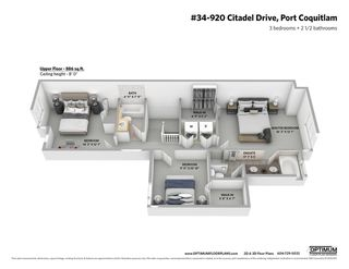 "Photo 19: 34 920 CITADEL Drive in Port Coquitlam: Citadel PQ Townhouse for sale in ""Citadel Green"" : MLS®# R2451647"