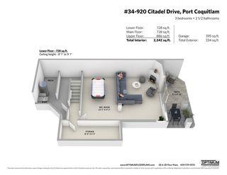 "Photo 17: 34 920 CITADEL Drive in Port Coquitlam: Citadel PQ Townhouse for sale in ""Citadel Green"" : MLS®# R2451647"