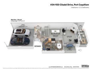 "Photo 18: 34 920 CITADEL Drive in Port Coquitlam: Citadel PQ Townhouse for sale in ""Citadel Green"" : MLS®# R2451647"