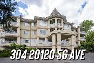"Photo 1: 304 20120 56 Avenue in Langley: Langley City Condo for sale in ""Blackberry Lane 1"" : MLS®# R2467299"
