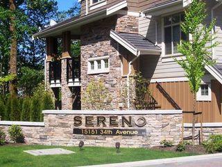 Photo 1: 72 15151 34 Avenue in Sereno: Home for sale : MLS®# F2713479
