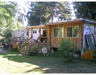 Main Photo: 990 CHASTER Road in Gibsons: Gibsons & Area Manufactured Home for sale (Sunshine Coast)  : MLS®# V774080