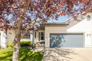 Photo 1: 41 8 DECHENE Road in Edmonton: Zone 20 House Half Duplex for sale : MLS®# E4166259