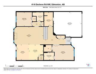 Photo 29: 41 8 DECHENE Road in Edmonton: Zone 20 House Half Duplex for sale : MLS®# E4166259