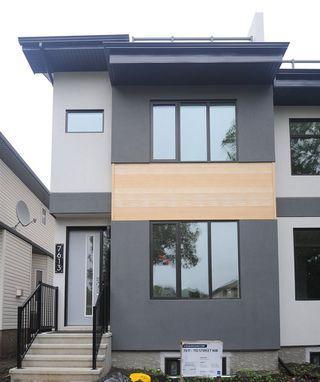 Main Photo: 7613 110 Street in Edmonton: Zone 15 House Half Duplex for sale : MLS®# E4174369