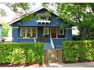"""Photo 1: 3826 LAUREL Street in Vancouver: Cambie House for sale in """"DOUGLAS PARK"""" (Vancouver West)  : MLS®# V839075"""