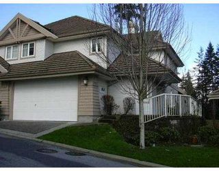 "Photo 1: 26 3405 PLATEAU Boulevard in Coquitlam: Westwood Plateau Townhouse for sale in ""PINNACLE RIDGE"" : MLS®# V754248"