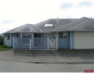 "Photo 1: 131 1450 MCCALLUM Road in Abbotsford: Poplar Townhouse for sale in ""CROWN POINT VILLA"" : MLS®# F2908090"