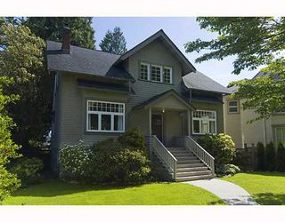 Photo 1: 4036 W 33RD Avenue in Vancouver: Dunbar House for sale (Vancouver West)  : MLS®# V769195