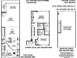 Photo 10: 309 1789 DAVIE Street: West End VW Home for sale ()  : MLS®# V834938