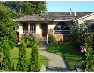 Photo 1: 8122 11TH Avenue in Burnaby: East Burnaby House 1/2 Duplex for sale (Burnaby East)  : MLS®# V742739