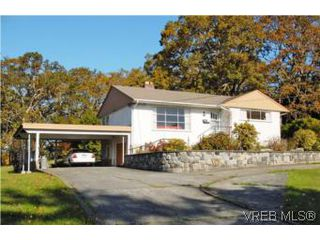 Photo 1: 1420 Simon Rd in VICTORIA: SE Mt Doug Single Family Detached for sale (Saanich East)  : MLS®# 486459