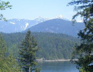 "Photo 1: LOT 4 GROVE RD in Gambier_Harbour: Gambier Island Land for sale in ""West Bay"" (Islands-Van. & Gulf)  : MLS®# V758055"
