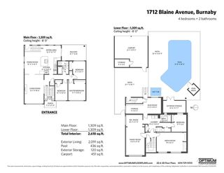 Photo 35: 1712 BLAINE Avenue in Burnaby: Sperling-Duthie House for sale (Burnaby North)  : MLS®# R2485604