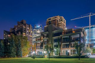 Main Photo: 203 600 Princeton Way SW in Calgary: Eau Claire Apartment for sale : MLS®# A1059029