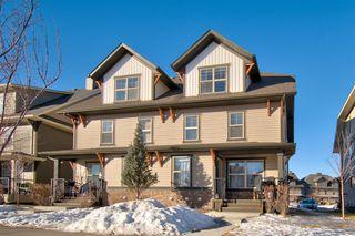 Main Photo: 502 50 Belgian Lane: Cochrane Row/Townhouse for sale : MLS®# A1059107