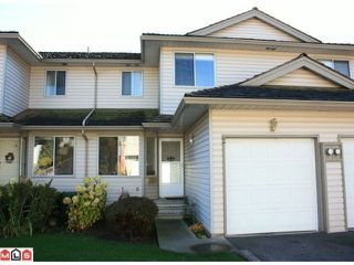 "Photo 1: 2 3070 TOWNLINE Road in Abbotsford: Abbotsford West Townhouse for sale in ""WESTFIELD PLACE"" : MLS®# F1027020"