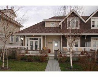 Photo 1: 13 4388 BAYVIEW ST in Richmond: Steveston South Townhouse for sale : MLS®# V574217