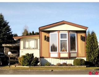 Photo 1: 33 1884 MCCALLUM Road in Abbotsford: Abbotsford East Manufactured Home for sale : MLS®# F2901697
