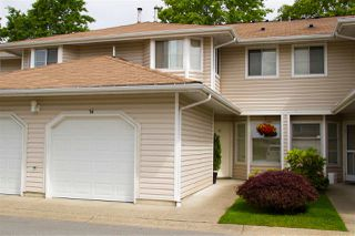"""Photo 1: 54 10038 155 Street in Surrey: Guildford Townhouse for sale in """"SPRING MEADOWS"""" (North Surrey)  : MLS®# R2472425"""