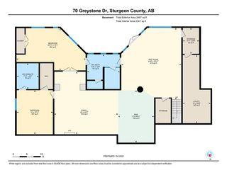 Photo 50: 70 Greystone Drive: Rural Sturgeon County House for sale : MLS®# E4218217