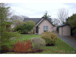 Photo 1: 2743 Victor Street in VICTORIA: Vi Oaklands Single Family Detached for sale (Victoria)  : MLS®# 271717