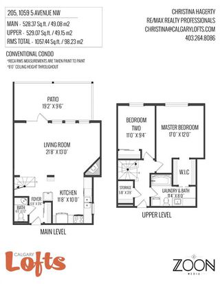 Photo 38: 205 1059 5 Avenue NW in Calgary: Sunnyside Apartment for sale : MLS®# A1057654