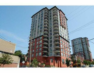 "Photo 1: 605 833 AGNES Street in New Westminster: Downtown NW Condo for sale in ""THE NEWS"" : MLS®# V803624"
