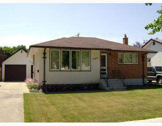 Photo 1: 326 DEVON Avenue in WINNIPEG: North Kildonan Residential for sale (North East Winnipeg)  : MLS®# 2815093