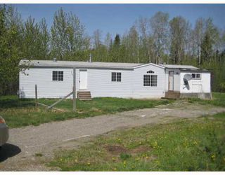 """Photo 1: 1292 GOOSE COUNTRY Road in Prince_George: Old Summit Lake Road Manufactured Home for sale in """"OLD SUMMIT LAKE RD"""" (PG City North (Zone 73))  : MLS®# N190010"""