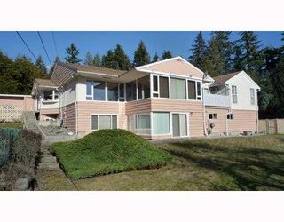 Photo 1: 510 HADDEN Drive in West_Vancouver: British Properties House for sale (West Vancouver)  : MLS®# V772562
