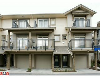 "Photo 1: 47 20326 68TH Avenue in Langley: Willoughby Heights Townhouse for sale in ""SUNPOINTE"" : MLS®# F1005168"