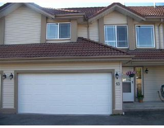 Photo 1: A13 3075 SKEENA Street in Port_Coquitlam: Riverwood Townhouse for sale (Port Coquitlam)  : MLS®# V728278