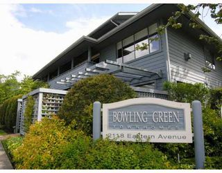 """Photo 2: 9 2118 EASTERN Avenue in North_Vancouver: Central Lonsdale Townhouse for sale in """"Bowling Green"""" (North Vancouver)  : MLS®# V767193"""