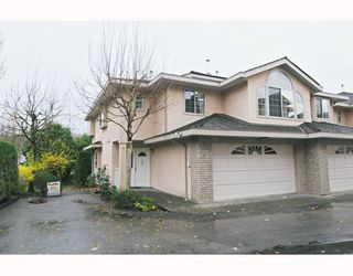 "Photo 1: 41 22488 116TH Avenue in Maple Ridge: East Central Townhouse for sale in ""RICHMOND HILL ESTATES"" : MLS®# V799040"