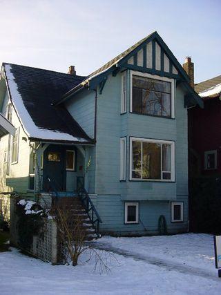 Main Photo: 3316 West 3rd Avenue: House for sale (Kitsilano)  : MLS®# V517615