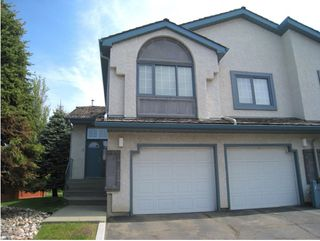 Photo 1: 1 1130 FALCONER Road in Edmonton: Zone 14 Townhouse for sale : MLS®# E4173077