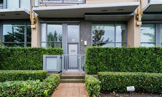 "Main Photo: 296 W 1ST Avenue in Vancouver: False Creek Townhouse for sale in ""The James"" (Vancouver West)  : MLS®# R2406593"