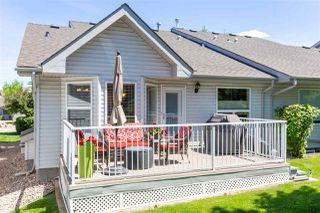 Photo 36: 9 330 Galbraith Close in Edmonton: Zone 58 House Half Duplex for sale : MLS®# E4207062
