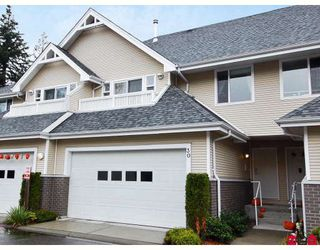 "Photo 1: 30 13918 58TH Avenue in Surrey: Panorama Ridge Townhouse for sale in ""ALDER PARK"" : MLS®# F2830522"