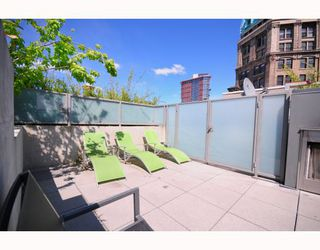 """Photo 8: 501 528 BEATTY Street in Vancouver: Downtown VW Condo for sale in """"BOWMAN LOFTS"""" (Vancouver West)  : MLS®# V770384"""