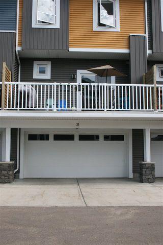 Photo 34: 31 1480 WATT Drive in Edmonton: Zone 53 Townhouse for sale : MLS®# E4206186