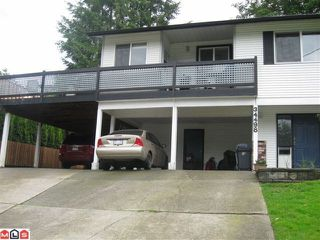 "Photo 1: 34498 LABURNUM Avenue in Abbotsford: Abbotsford East House for sale in ""R.BATEMAN AREA"" : MLS®# F1015896"