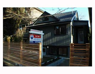 Photo 1: 1150 LILY Street in Vancouver: Grandview VE House for sale (Vancouver East)  : MLS®# V799749