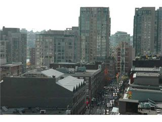"Photo 8: 1207 977 MAINLAND Street in Vancouver: Downtown VW Condo for sale in ""YALETOWN PARK 3"" (Vancouver West)  : MLS®# V855676"