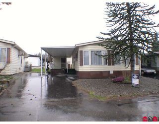 """Photo 1: 136 3665 244TH Street in Langley: Otter District Manufactured Home for sale in """"LANGLEY GROVE ESTATES"""" : MLS®# F2908124"""
