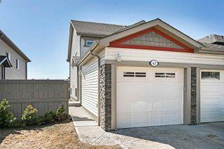 Photo 1: 42 6520 2 Avenue in Edmonton: Zone 53 House Half Duplex for sale : MLS®# E4198467