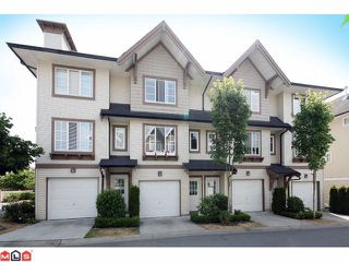 "Photo 1: 62 20560 66TH Avenue in Langley: Willoughby Heights Townhouse for sale in ""AMBERLEIGH"" : MLS®# F1028191"