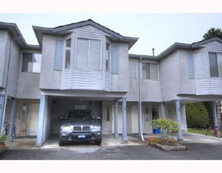 "Photo 1: 29 3111 BECKMAN Place in Richmond: West Cambie Townhouse for sale in ""BRIDGE POINTE"" : MLS®# V732496"
